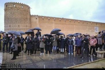 گزارش تصویری : روز نخست حضور اعضای فدراسیون جهانی راهنمایان گردشگری در شیراز