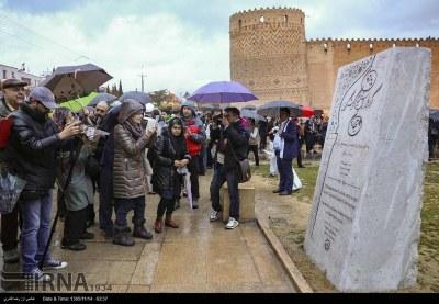 بازدید ورود راهنمایان گردشگری ۴۵ کشور جهان از اماکن تاریخی شیراز