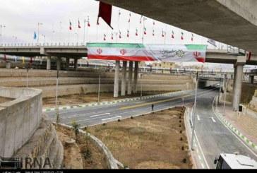 گزارش تصویری : افتتاح تقاطع چهارسطحی تخت جمشید