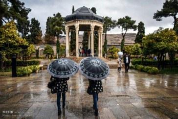 میزان بارندگی شهرستانهای استان فارس در سال ۹۵ بهمن تا روز ۲۶ بهمن