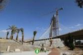 گزارش تصویری : پل کابلی ولیعصر شیراز، اسفند ۹۵