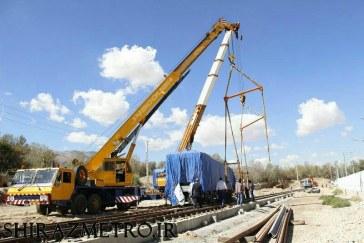 رام نهم واگن های مترو به شیراز رسید