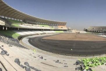 آغاز نصب سایه بان ضلع شرقی استادیوم پارس شیراز