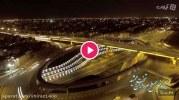 ویدئو : نورپردازی تقاطع چهارسطحی تخت جمشید شیراز