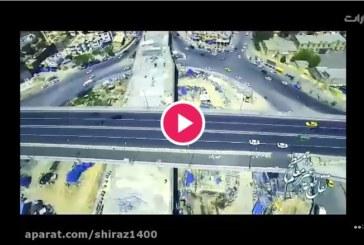آخرین روند ساخت تقاطع طبقاتی معلم شیراز