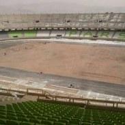 """نام """"پارس"""" برروی صندلی های استادیوم ۵۰ هزار نفری پارس نقش بست"""