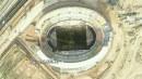 عکس هوایی از ورزشگاه ۵۰ هزار نفری پارس شیراز
