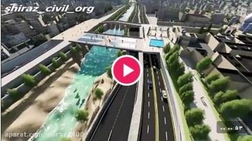 ویدئو : پروژه گردشگری و پل شیشه ای علی بن حمزه شیراز