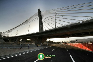 گزارش تصویری : افتتاح پل کابلی ولیعصر شیراز