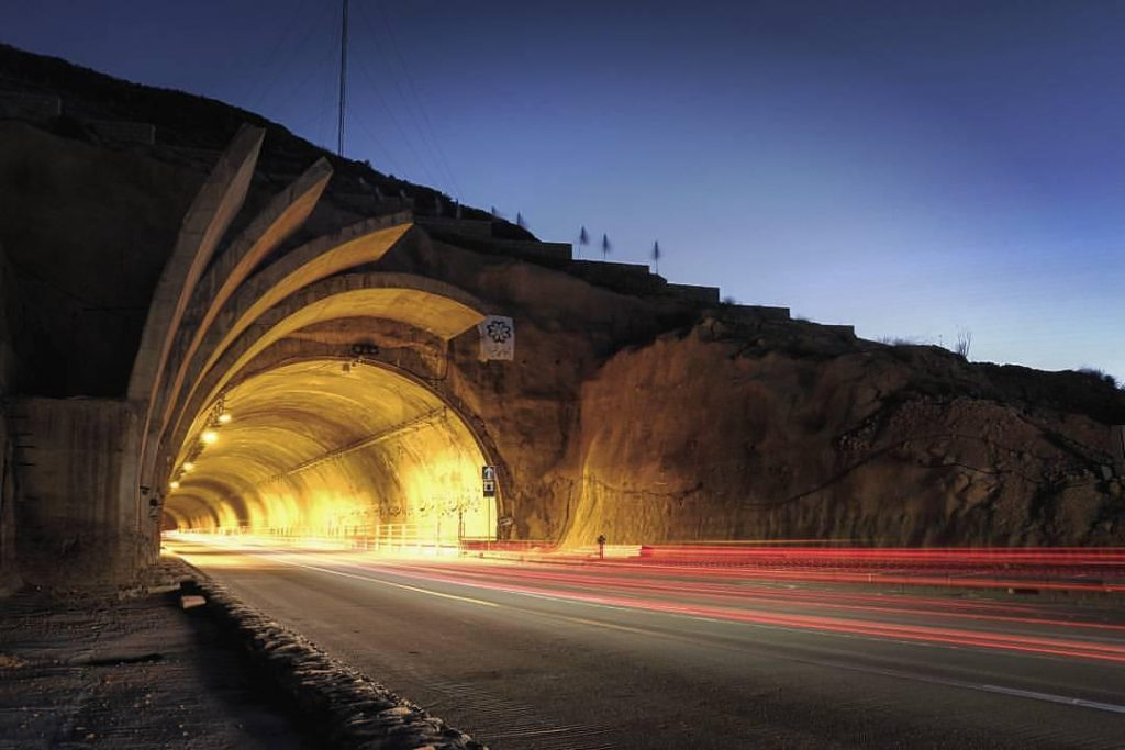 تونل دوقلو ایمان