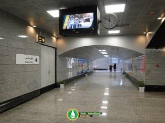 گزارش تصویری : ایستگاه مترو شهید دوران