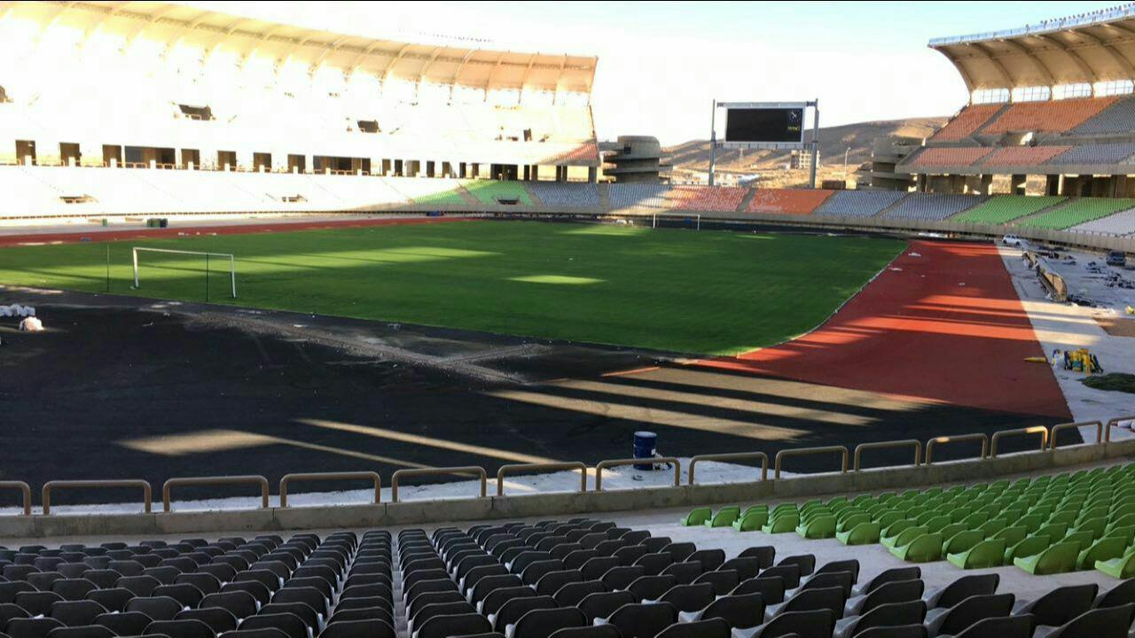 گزارش تصویری : استادیوم پارس شیراز – مهرماه ۹۶