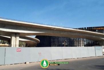 گزارش تصویری: پل طبقاتی گلشن (کشن) شیراز – مهرماه 96