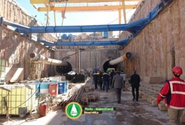 گزارش تصویری:بازدید استاندار فارس از خطوط ۱ و ۲ مترو شیراز
