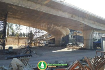 گزارش تصویری: پل طبقاتی گلشن (کشن) شیراز و پارکینگ جنت – آبان ماه ۹۶