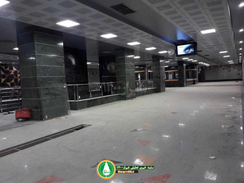 گزارش تصویری:ایستگاه مترو رازی