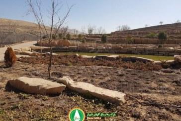 گزارش تصویری : پروژه پارک رها و باغ گلهای شیراز