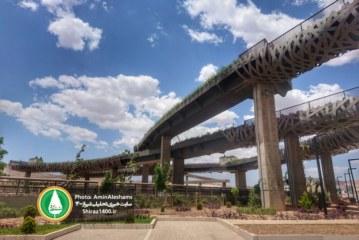 المان ورودی غربی شیراز و بازهم یک پروژه نصفه و نیمه دیگر!