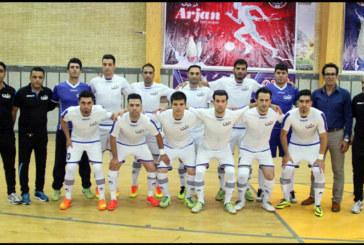 جذب بازیکنان جدید در لبنیات ارژن شیراز