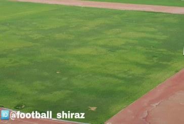 """ابهامی به اسم """"چمن"""" ورزشگاه پارس"""