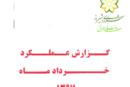 گزارش پیشرفت پروژه های عمرانی کلانشهر شیراز – خرداد ۹۷