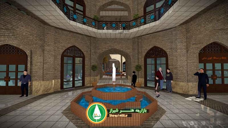 پروژه بازارچه هنر شیراز