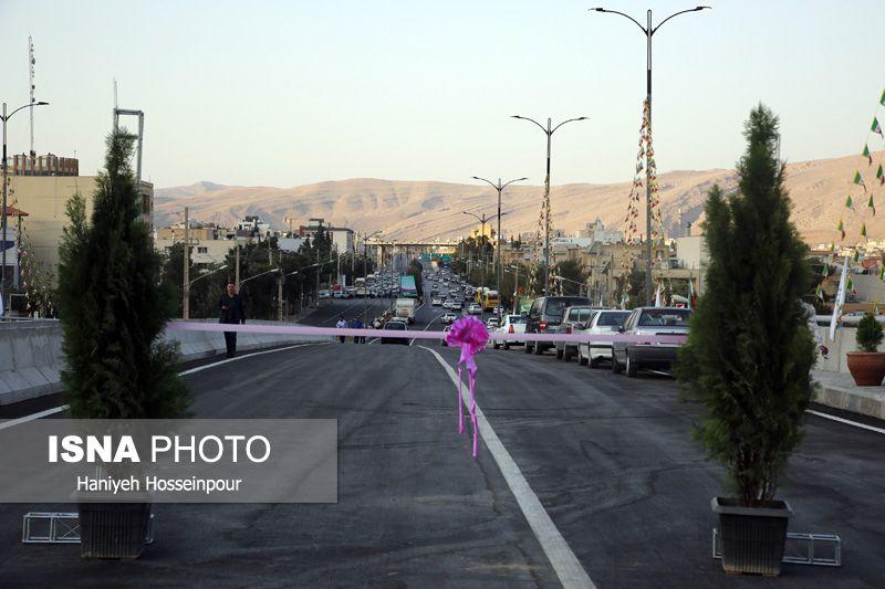 ویدئو: افتتاح تقاطع رودکی و شروع ساخت ۲ بزرگراه در شیراز