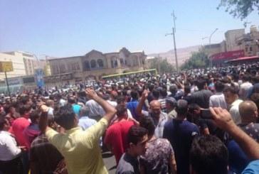 گزارش ایرنا از تجمع غیرقانونی در شیراز