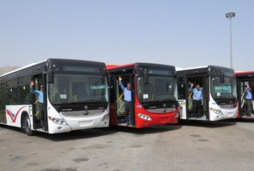 ورود ۱۸۵ دستگاه اتوبوس جدید به ناوگان حمل و نقل عمومی شیراز