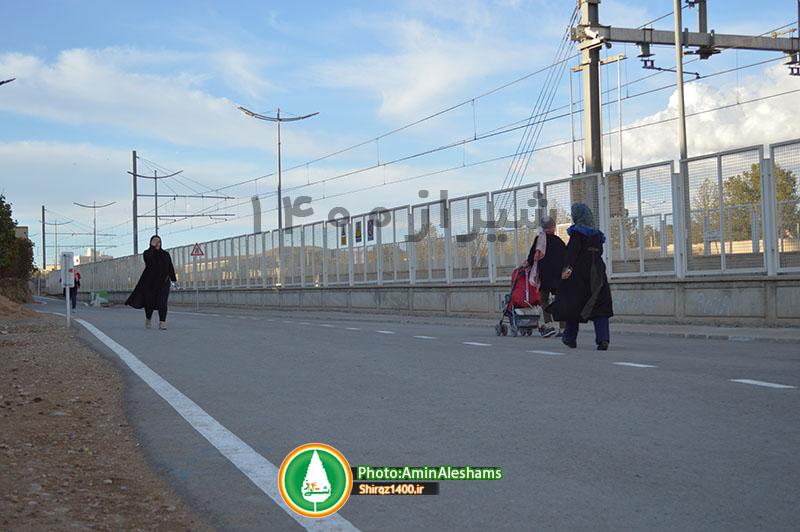 وعده ای برای بهسازی پیاده رو معالی آباد / فست فودها به پیاده راه سلامت نمی آیند