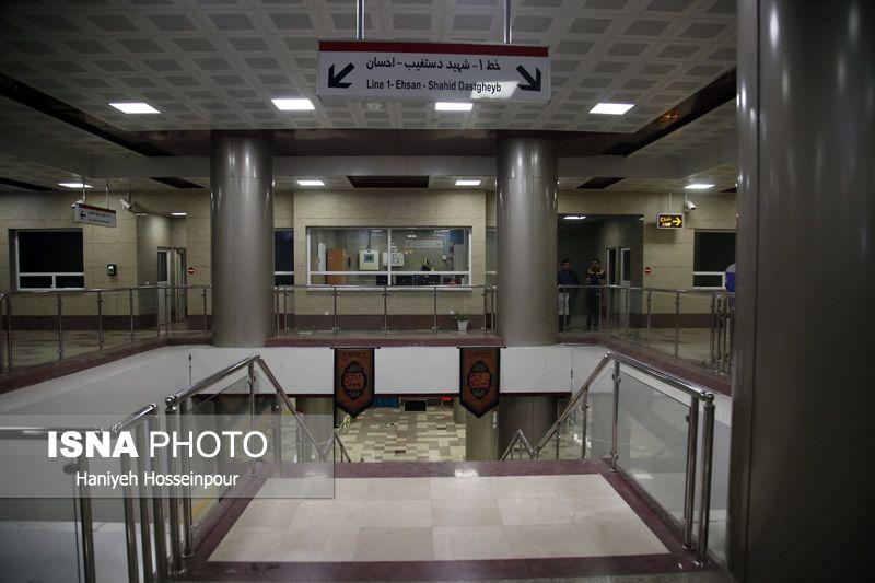 گزارش تصویری : افتتاح ایستگاه های مترو فرصت شیرازی و غدیر شیراز