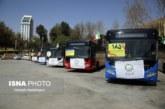 ویدئو : افزوده شدن ۱۸۵ دستگاه اتوبوس به ناوگان حمل و نقل شهری شیراز
