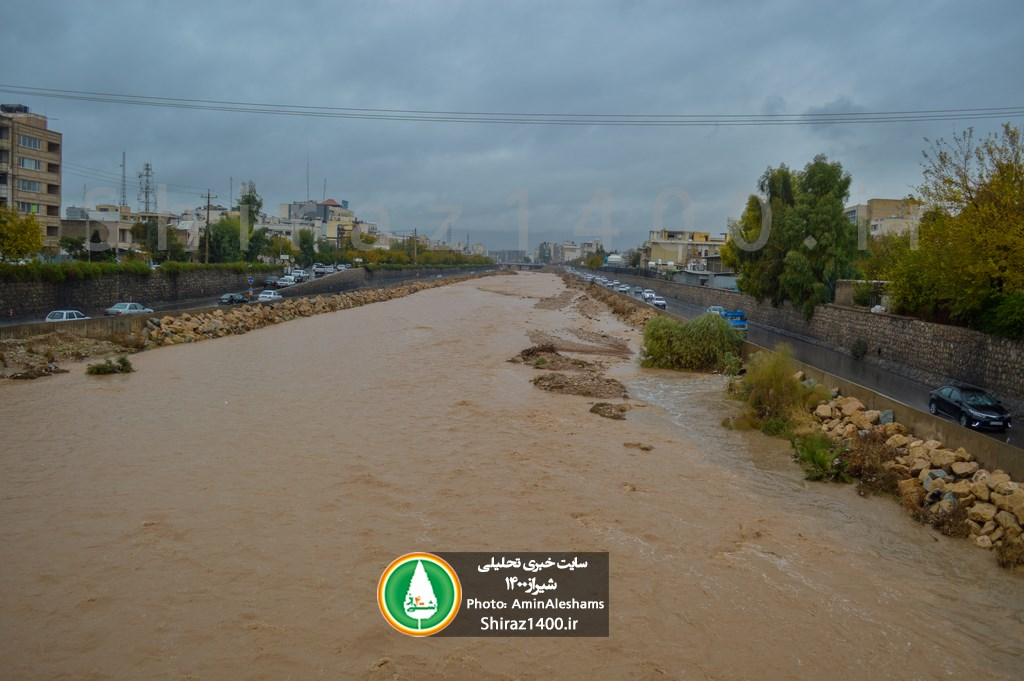 میزان بارش شیراز و شهرستانهای فارس اعلام شد