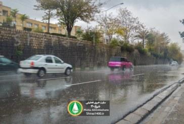 آمار میزان بارش شیراز و شهرستانهای فارس