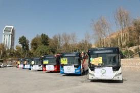 تمام ۱۸۵ اتوبوس رونمایی شده هنوز به شیراز نرسیده اند!