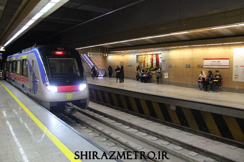 بازگشایی مترو شیراز از فردا ۲۰ اردیبهشت