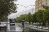 میزان بارش شهرهای فارس تا ظهر جمعه ۲۵ آبان