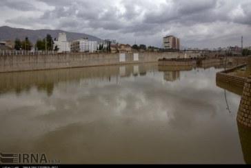 گزارش تصویری : جریان آب و طراوت زندگی در رودخانه خشک شیراز