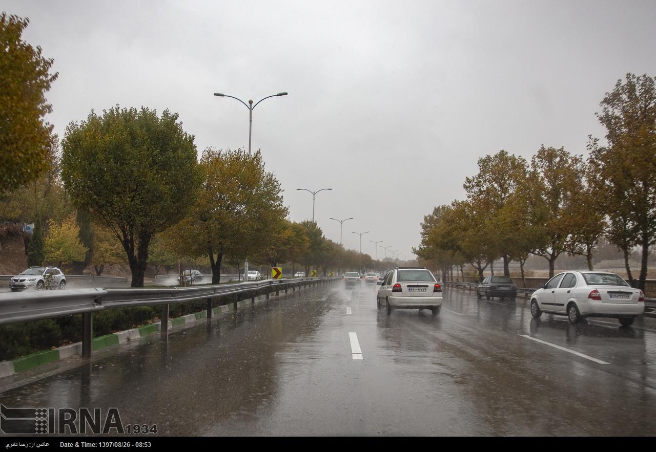 تداوم بارندگیهای فارس تا هفته آینده