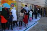 رویای کودکان کار روی دیوار خیابان معالی آباد نقش بست