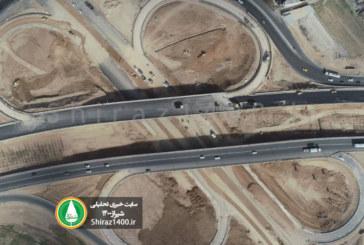 عکس : نمای هوایی پروژه شبدری جوادیه