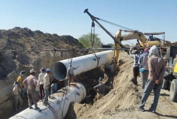 پیشرفت ۸۰ درصدی خط دوم انتقال آب شرب شیراز
