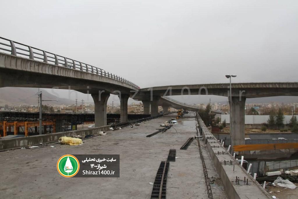 گزارش تصویری : پل طبقاتی گلشن، دی ۹۷