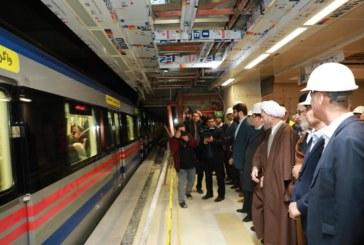 افتتاح ایستگاه مترو ستاد در بهمن ماه