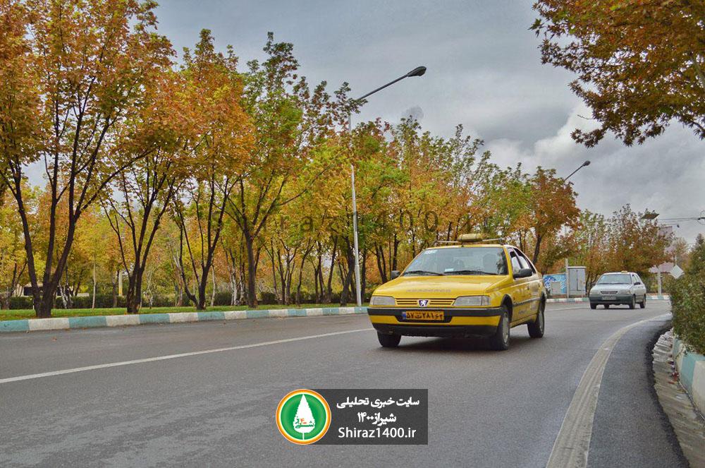 ناوگان تاکسیرانی در شیراز، هوشمندسازی میشود