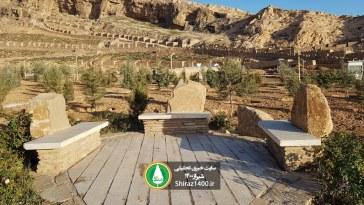 گزارش تصویری : فاز دوم پارک سایه ( نماز )