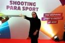 مدال طلای جام جهانی پارا تیراندازی بر گردن ساره جوانمردی