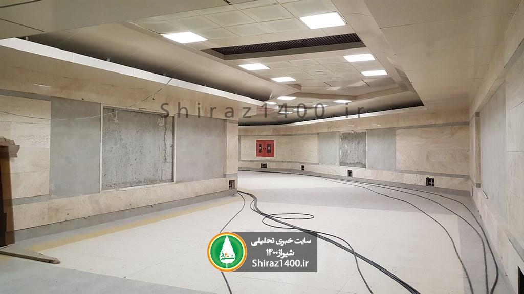 گزارش تصویری : آخرین مراحل آماده سازی ایستگاه مترو ستاد