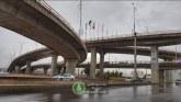 گزارش تصویری: پل طبقاتی گلشن پس از افتتاح