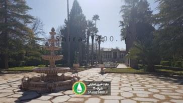 گزارش تصویری : بهسازی باغ تاریخی عفیف آباد